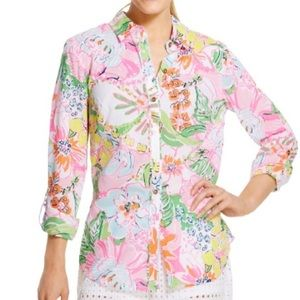 Lilly Pulitzer • Nosey Posey Blouse